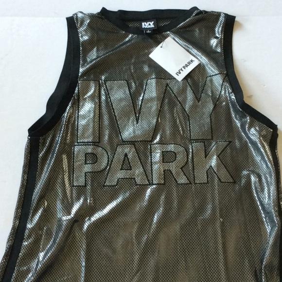 IVY PARK Tops - Ivy Park Oversize Mesh Tank Large
